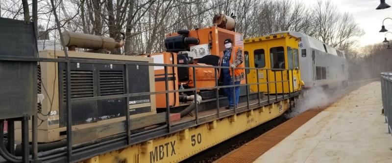 Rail Washer